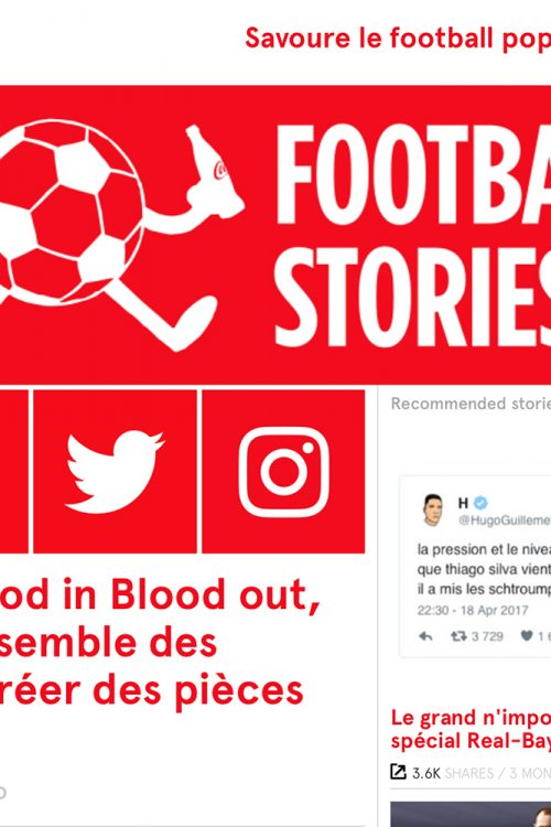 Blood in Blood out on Football Stories